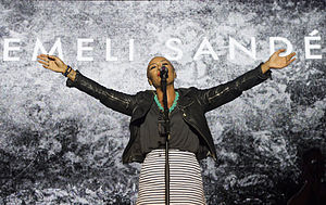 Emeli Sandé - Sandé at the 2013 Gibraltar Music Festival