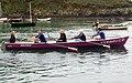 Gig (longboat) racing at Solva (2) - geograph.org.uk - 1531213.jpg
