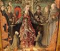 Giorgio schiavone, madonna col bambino tra santi e committenti, 03.JPG