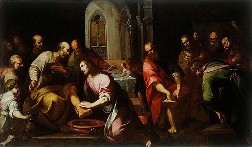 Giovanni Stefano Danedi - Kristus umiva noge apostolom