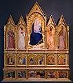 Giovanni da milano, madonna col bambino tra santi, storie dei santi e di cristo, 1355-60 ca, dall'ospedale di prato 01.jpg