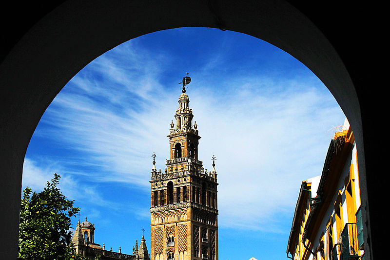 File:Giralda in arch.jpg