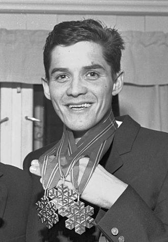 Gjermund Eggen - Eggen after the 1966 World Championships