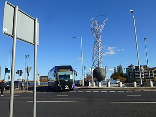 Glider (Belfast) bus rapid transit system in Belfast, Northern Ireland