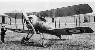 Bentley BR2 - Gloster Nightjar during evaluation at Farnborough in 1922
