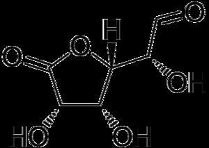 Glucuronolactone - Image: Glucuronolactone