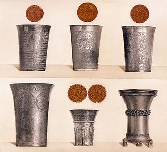 Chanson à boire (Poulenc) - Silver drinking cups from the 15th and 17th centuries