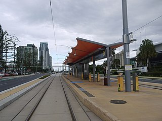 Broadbeach North light rail station