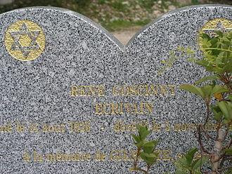 René Goscinny - René Goscinny's tombstone in Nice (F)