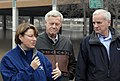Gov. Dayton visits Moorhead to view flood preparations and visit with local officials 110409-A-MX753-003.jpg