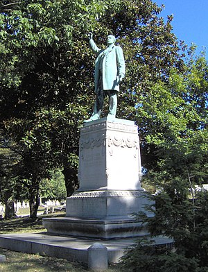 William Goebel - Monument in Frankfort Cemetery