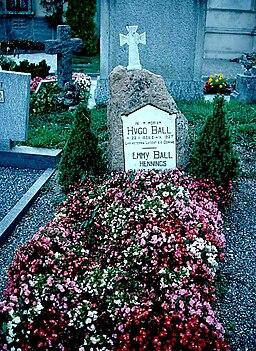 Grab von Hugo Ball und Emmy Ball-Hennings (1978)