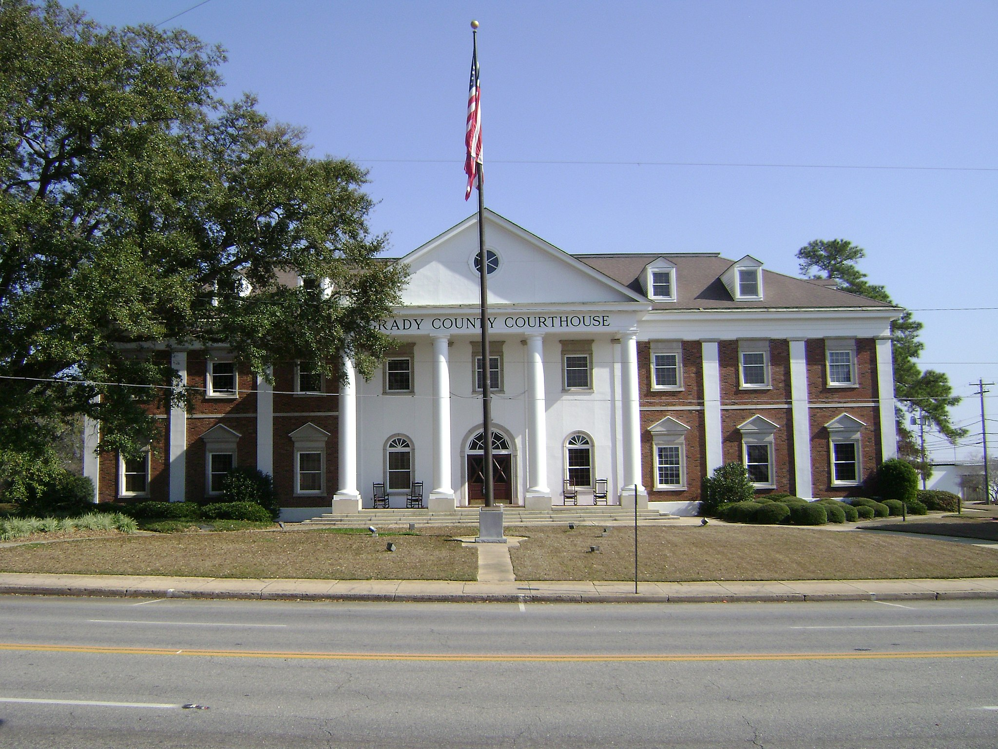 Grady County Courthouse (West face)