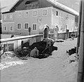 Grafdelvers aan het werk in de sneeuw, Bestanddeelnr 254-4292.jpg