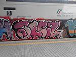 Graffiti on rolling stock in Rome 316.jpg