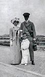 Grand Duke Andrei Vladimirovich, Mathilde Kschessinska and their son.jpg