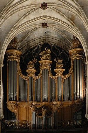 Daniel Kern Manufacture d'Orgues - Image: Grandes orgues de l'église Saint Séverin à Paris