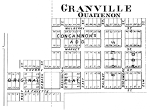 Granville, Indiana - Granville in 1878