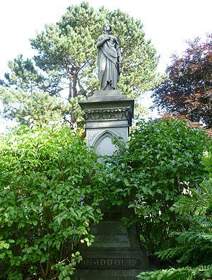 John Waddell (engineer) - Waddell's grave in the Dean Cemetery, Edinburgh