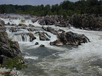 Potomac River - Great Falls of the Potomac River
