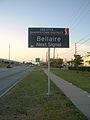 GreaterSharpstownBellaireBlvdApproachSign.jpg