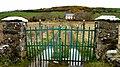 Green gate at Durnesh - geograph.org.uk - 1202523.jpg