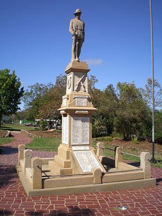 Greenmount, Queensland (Toowoomba Region) - Greenmount war memorial