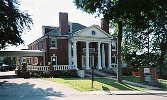 Academy Hill Historic District (Greensburg, Pennsylvania) - Huff Mansion / YWCA (1900)