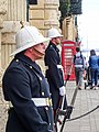 Grim Guards at Grandmasters Palace, Valetta (25757356756).jpg