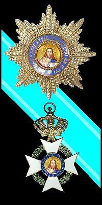 Grootkruis, ster en lint van de Orde van de Verlosser.jpg