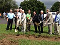 Groundbreaking for Wastewater Collection and Treatment Plant in Section (9565209572).jpg