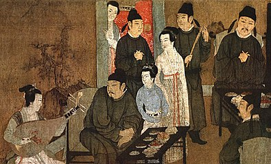 Gu Hongzhong's Night Revels, Detail 1.jpg