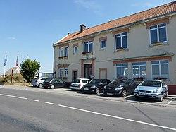 Guemps (Pas-de-Calais) mairie.JPG