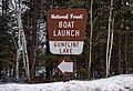 Gunflint Lake Boat Launch Sign, Superior National Forest (39895281135).jpg