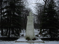 Monument to Stepan Guryev in Guryevsk