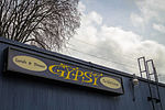 Sign for the Gypsy Restaurant and Velvet Lounge