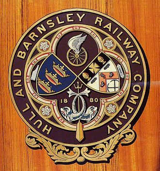 Hull and Barnsley Railway - Image: H&B Ry Co Crest