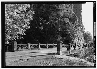 Oneonta Gorge - Image: HAER HCRH OR 36 57