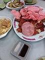 HK 上環市政大廈 Sheung Wan Municipal Building Cooked food centre 棟記 Tung Kee Restaurant dinner food August 2019 SSG 13.jpg