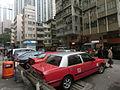 HK 大坑 Tai Hang 浣紗街 Wun Sha Street carpark Taxi Apr-2014.JPG