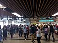 HK 港鐵 MTR 上水站 Sheung Shui Station concourse SS shop Watsons n visitors Jan 2016 Lnv2.jpg