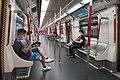 HK MTR 港鐵 traffic train interior July 2021 S64 01.jpg