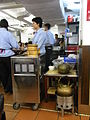 HK Sai Ying Pun Lin Heung Kui restaurant servants n metal tea pot Aug-2012.JPG