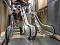 HK TST Chung King 活方商場 Woodhouse entrance escalators.JPG