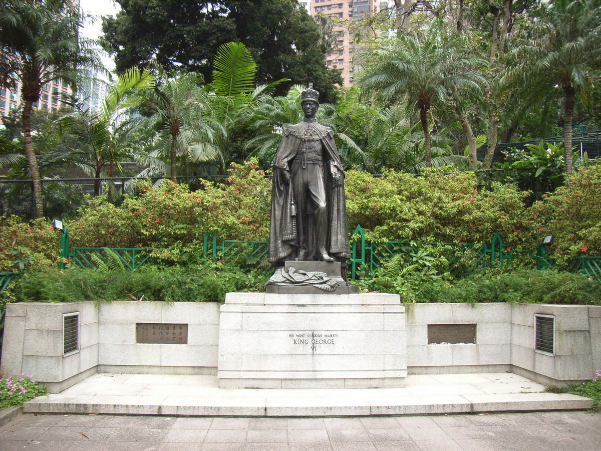 Statue Of George Vi Hong Kong Wikipedia