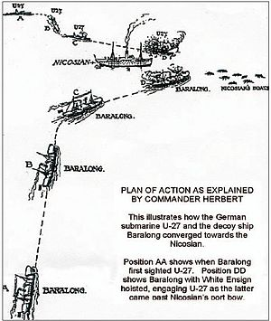 Baralong incidents - The action of 19 August 1915