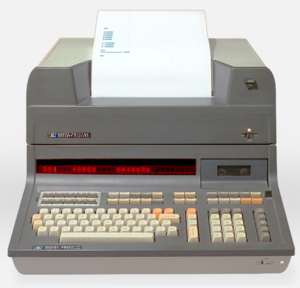 Function key - HP 9830A (1972) with 5×2 grid of 10 function keys at top left.