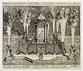 HUA-32386-Afbeelding van het vuurwerk in de Hofvijver in Den Haag afgestoken op 14 juni 1713 ter gelegenheid van het sluiten van de Vrede van Utrecht.jpg