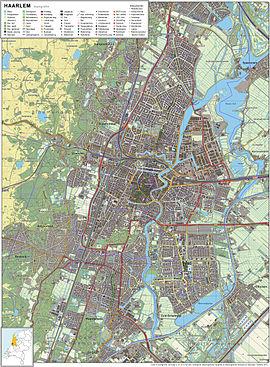 Haarlem-topografie