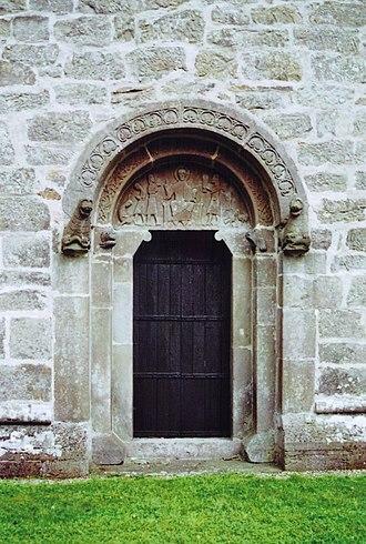 Hablingbo Church - Image: Hablingbo kyrka Gotland Portal 01